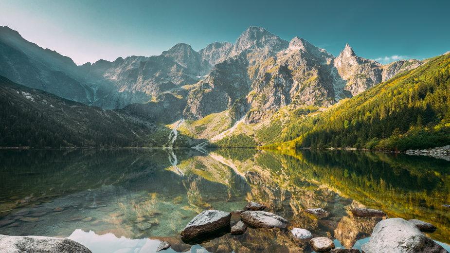 Morskie Oko w Tatrach