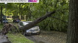 Burza nie wybiera. Ubezpiecz samochód zanim będzie za późno!