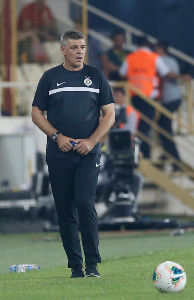 Trener Savo Milošević