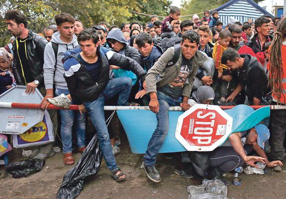 Migranti u Hrvatskoj