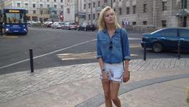 Anja Rubik spędza urlop w Serbii