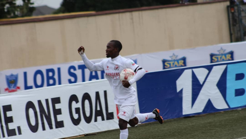 Enugu Rangers bounced back from the loss in day one to get the three points in day two (Twitter/NPFL)