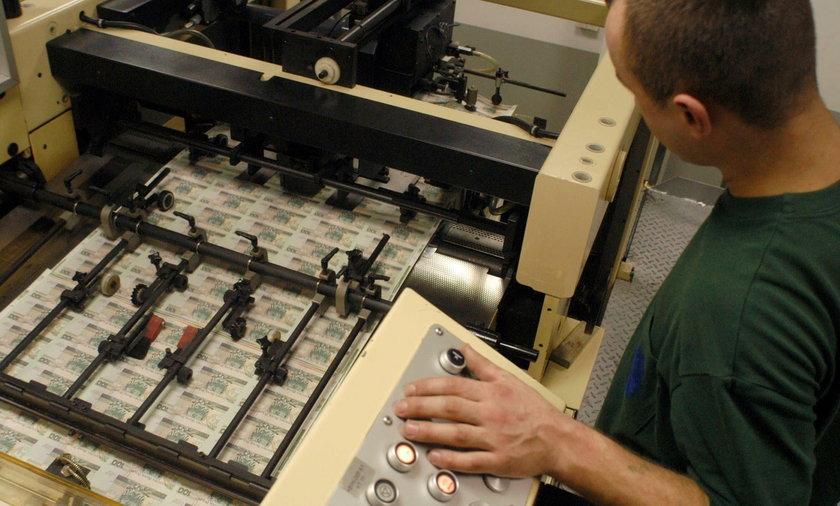 Polskie banknoty drukowane w Chinach? NBP
