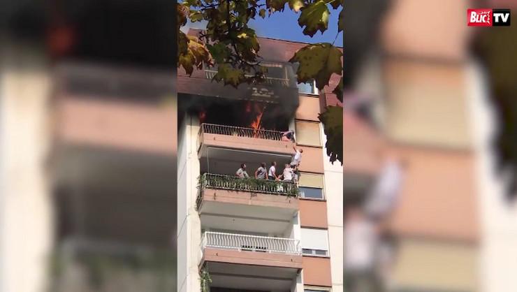 Požar na Dorćolu