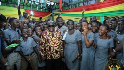 Shame Free SHS critics by passing WASSCE – Akufo-Addo tells students