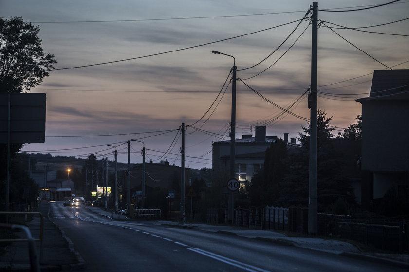 Egipskie ciemności na trasie do Pyrzowic