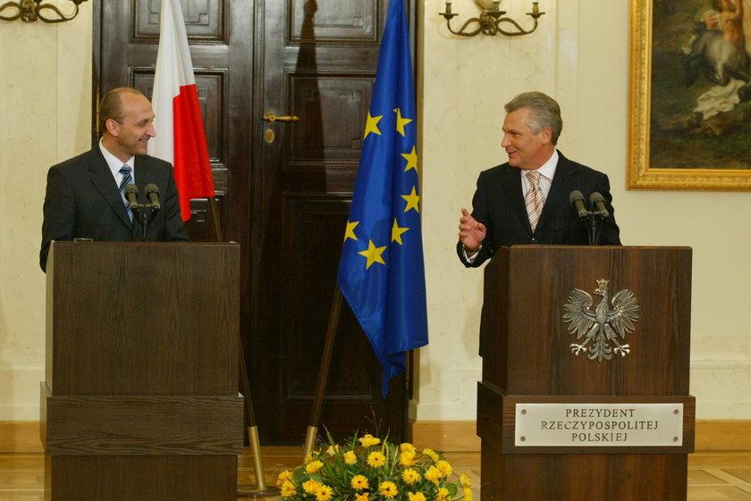 Kwaśniewski i Marcinkiewicz