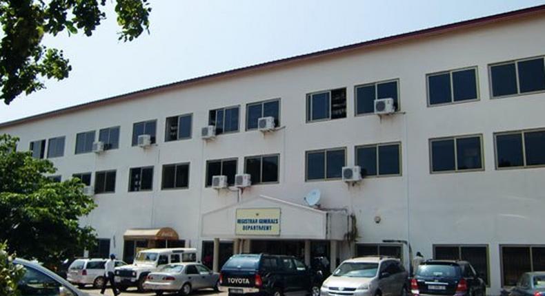 Registrar General's department, Accra