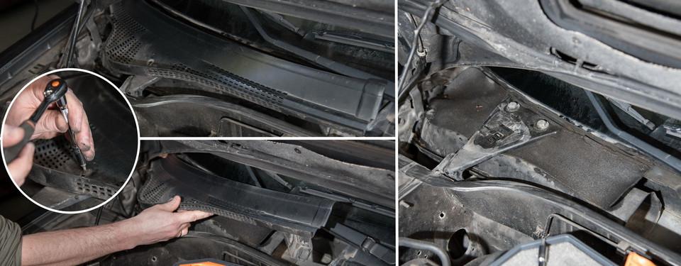 Мы обслуживаем Peugeot 306 1.9 TD: салонный фильтр