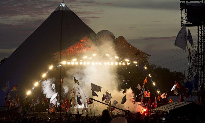 Straszny wypadek na festiwalu w Glastonbury