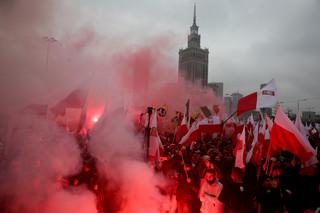 Jest śledztwo ws. spalenia flagi podczas Święta Niepodległości