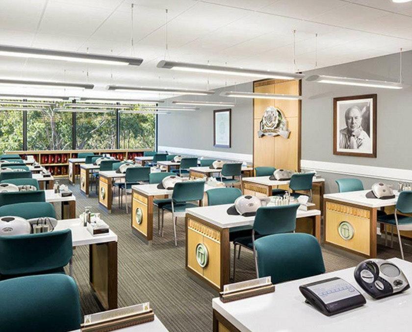 Wnętrza nowej siedziby scjentologów w Australii
