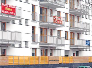 Wtórny rynek nieruchomości: Mieszkanie na parterze trudne do sprzedania