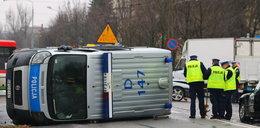 Idiota staranował radiowóz! 5 rannych