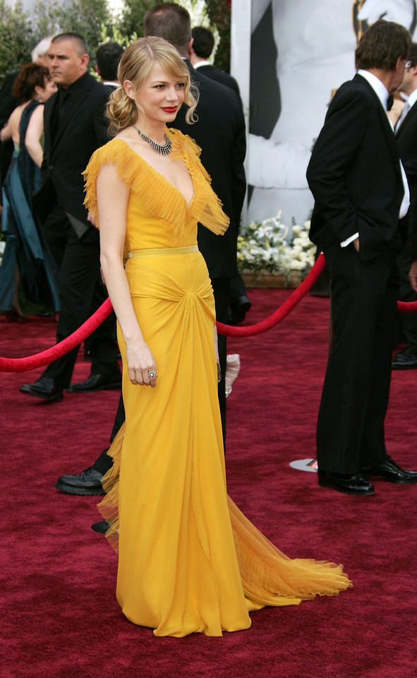 Michelle Williams na oscarowej gali w 2006