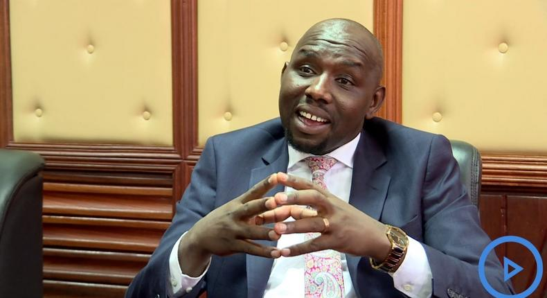Senate Majority Leader Kipchumba. Hilarious reactions from Kenyans after Senator Murkomen's throwback photo Murkomen