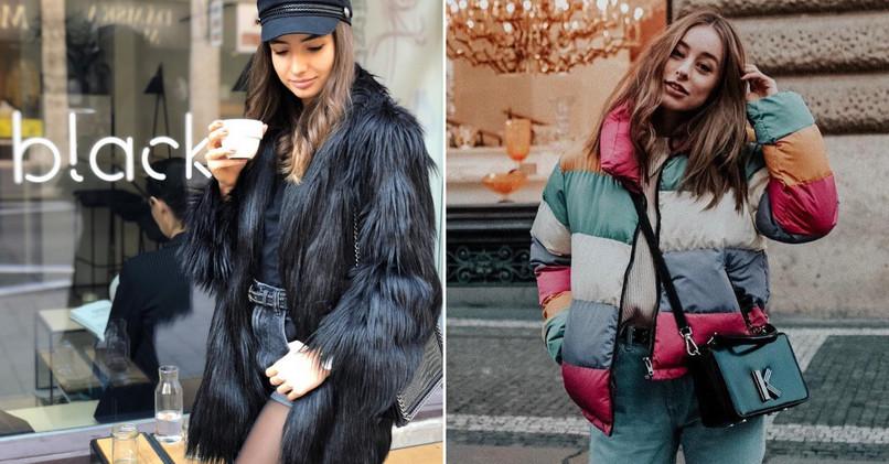 Známe Slovenky si túto zimu obľúbili hlavne umelé kožušinové kabáty. 08a7011ee03