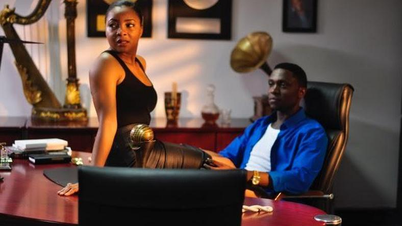 "IBK Spaceship Boi and Linda Ejiofor play love interests Victor E and Vanessa in upcoming movie ""8 Bars & A Clef."""
