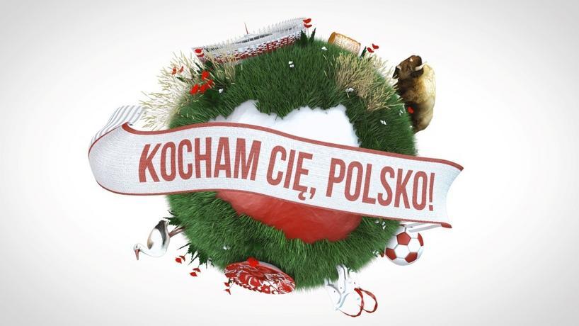 """Kocham Cię, Polsko"" - logo"