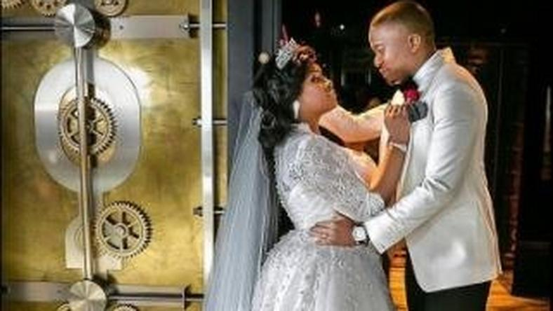 Toolz and Tunde Demuren celebrate one year wedding anniversary