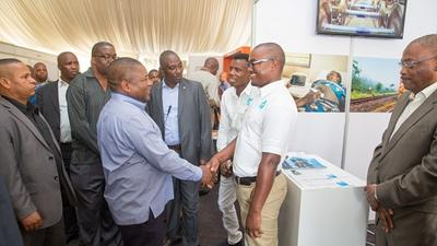 Mozambique's President emphasised the importance of engineering at a National Fair