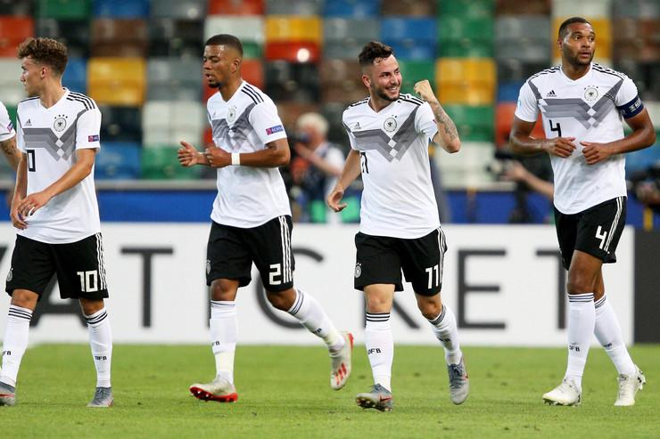 Mlada fudbalska reprezentacija Nemačke, Mlada fudbalska reprezentacija Danske