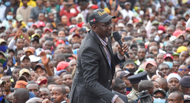 Deputy President William Ruto (Courtesy)