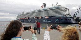 Wycieczkowiec gigant odwiedził Gdynię