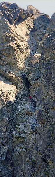 Żleb Drége'a w Tatrach
