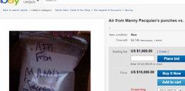 'Powietrze z walki stulecia' do kupienia w sieci! Handlarze oszaleli