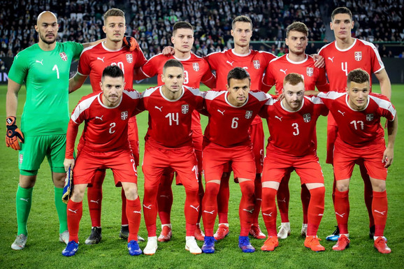 Startna postava Srbije na meču sa Nemačkom