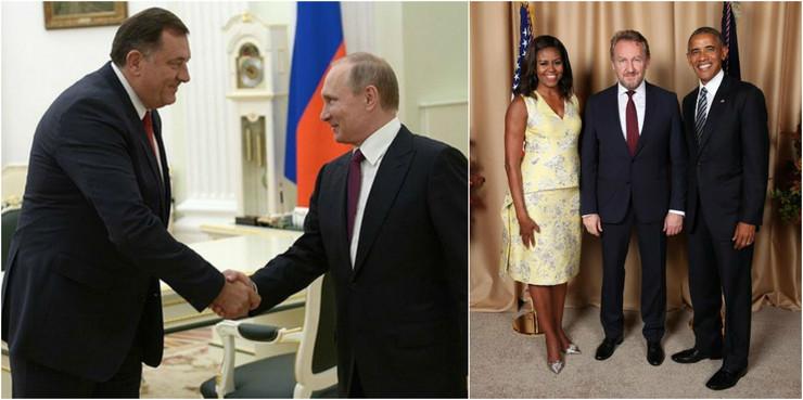 Dodik Izetbegovic Putin Obama RAS Arhiva