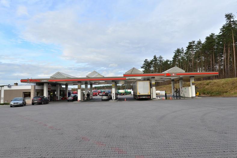 Stacja Total, Słubice