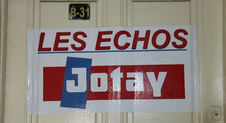 Siège du journal Les Echos
