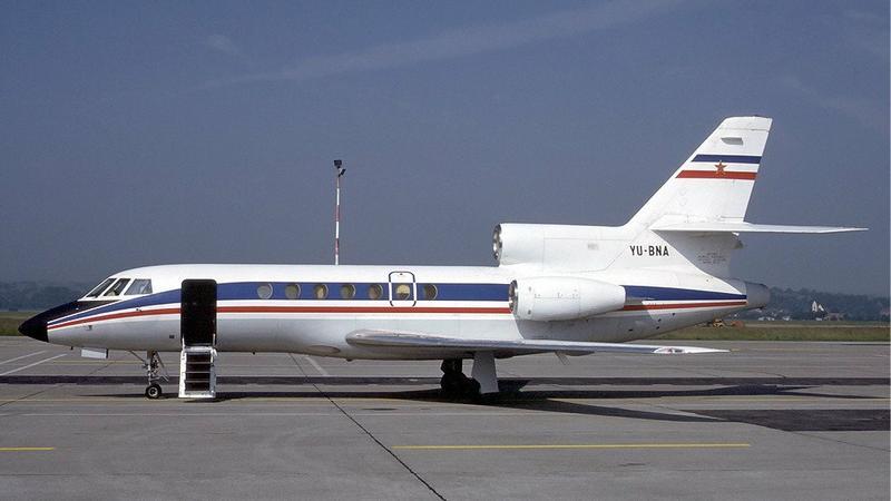 Jugosłowiański Falcon 50 w Bazylei, 1984