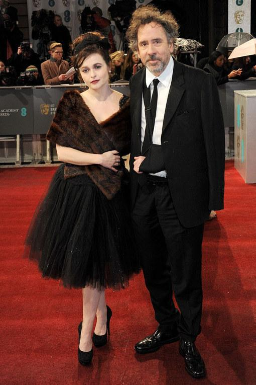 BAFTA 2013: Helena Bonham Carter and Tim Burton