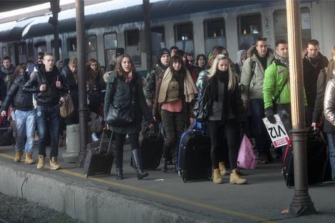 Slovenci su dolazili i vozom i autobusima