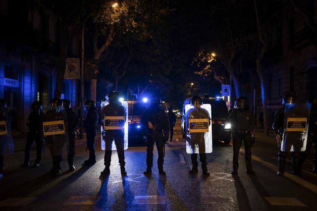 Haos na ulicama Barselone