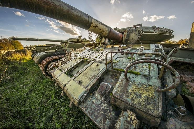 Groblje tenkova u Rusiji