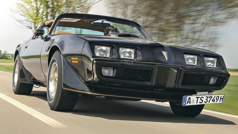 Pontiac Firebird TransAm - marzenie kinomanów