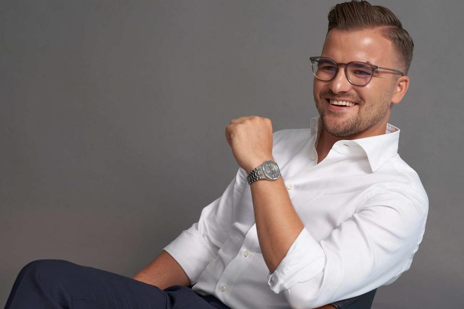 Forbes: Jakub Roskosz - laureat listy