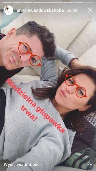 Anna i Robert Lewandowscy fot. annalewandowskahpba
