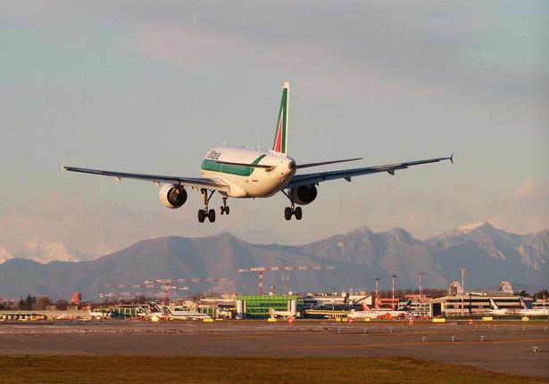 Na rzymskim lotnisku Fiumicino nie odbędzie się około 100 lotów, w tym 85 Alitalii.