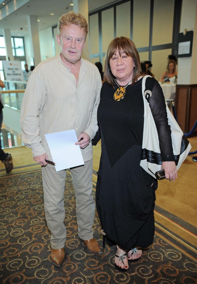 Daniel Olbrychski z żoną Krystyną Demską-Olbrychską