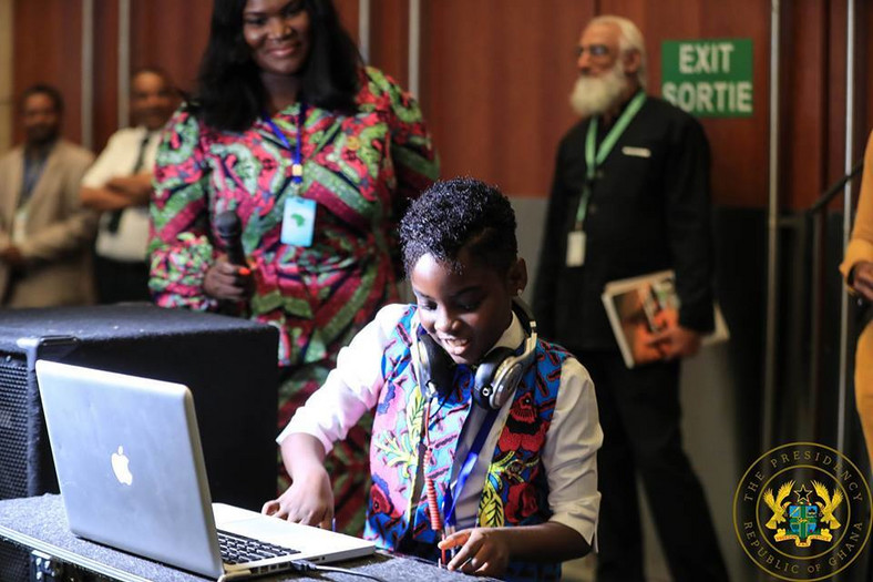 DJ Switch thrills African leaders at AU event in Ethiopia