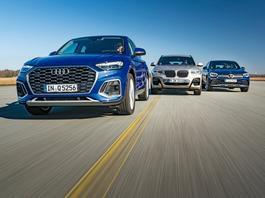 Seksowne i z charakterem - Audi Q5 Sportback, BMW X4 i Mercedes GLC Coupe
