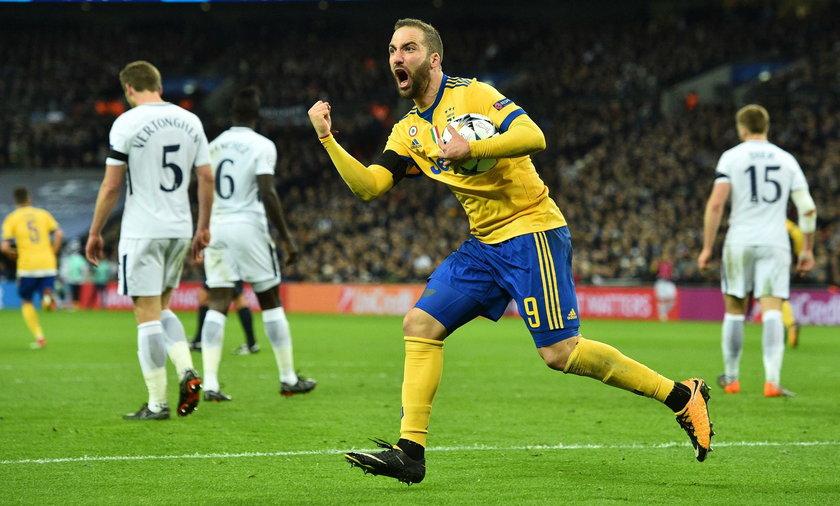 Juventus pokonał na wyjeździe Tottenham 2:1