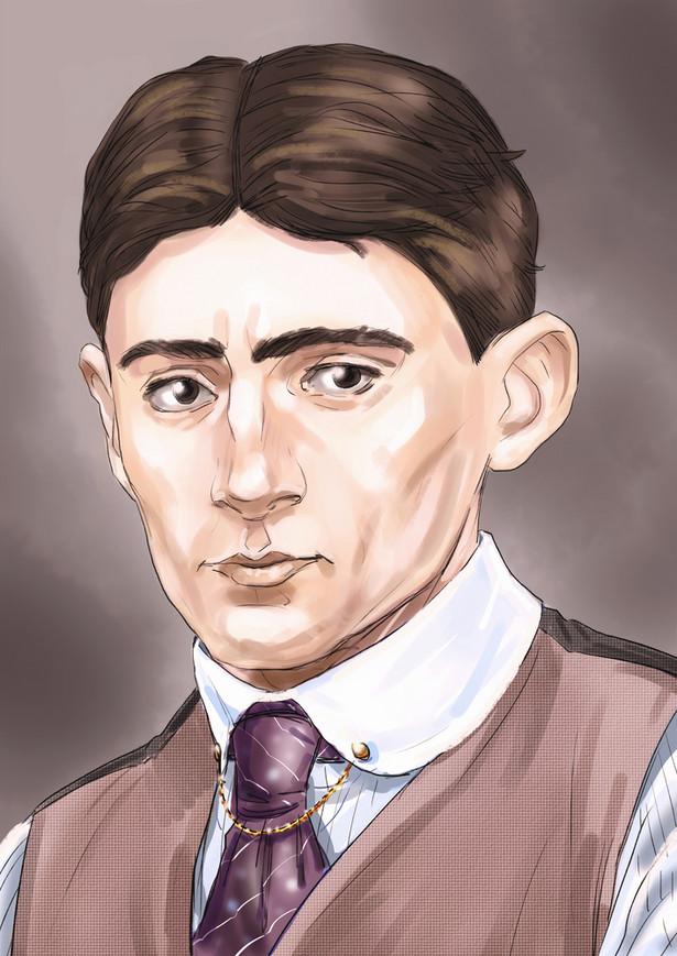 """Kafka był specjalistą od rozwiązań połowicznych, częściowych i niepewnych. Zaręczał się, ale się nie żenił. Nie kończył nawet swoich powieści (""""Proces"""" i """"Zamek"""" uporządkowanie i ukończenie zawdzięczają Brodowi)."""