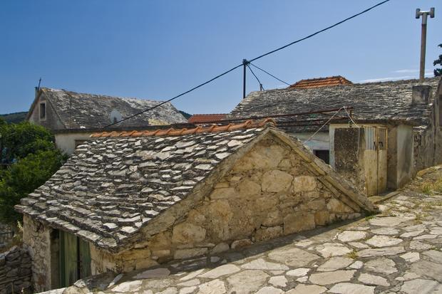 Stare domy, Primošten