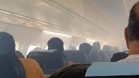Horror na pokładzie. Samolot tuż po starcie wypełnił się dymem